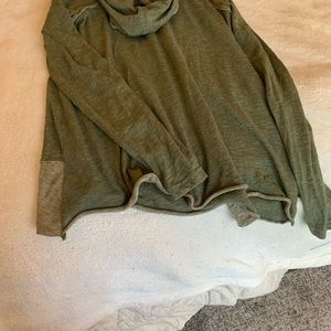 Slouchy cowl neck tunic